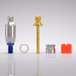 Picture of CONELOG® Ball abutment set Ø 5.0 mm, GH 4.5 mm