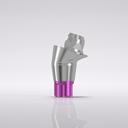 Picture of CONELOG® Bar abutment, 17° angled, type A, Ø 4.3, GH 2.5, sterile