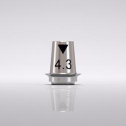 Picture of CONELOG® Titanium base CAD/CAM, bridge Ø 4.3, GH 0.8