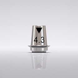 Picture of CONE Ti Base 4.3mm x 0.8mm, Bridge (C2342.4308)