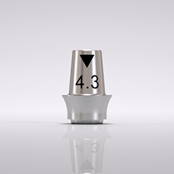Picture of CONE Ti Base 4.3mm x 2.0mm, Bridge (C2342.4320)