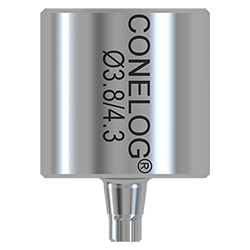 Picture of Conelog Cam Titanium Blank type IAC 2 pack w/2 separate packed abutment screws,