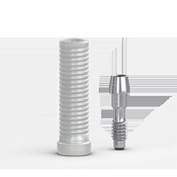 Picture of FlatOne® Abutment Plastic Cylinder, Narrow, w/ Retaining Screw