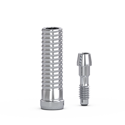 Picture of FlatOne® Abutment Titanium Cylinder, Narrow, w/ Retaining Screw