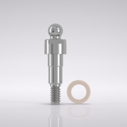 Picture of CAMLOG® Ball abutment male part Ø 3.3 mm, GH 1.5 mm