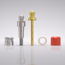 Picture of CAMLOG® Ball abutment set Ø 3.3 mm, GH 1.5 mm