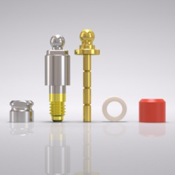 Picture of CAMLOG® Ball abutment set Ø 3.8 mm, GH 4.5 mm