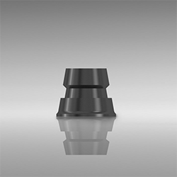 Picture of Titanium bonding base for bar abutment, Ø 3.3/3.8/4.3 mm