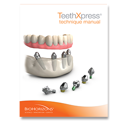 Picture of TeethXpress Technique Guide