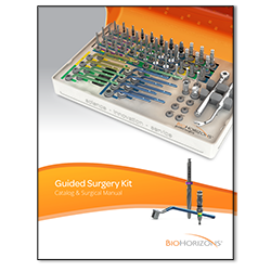 Picture of Guided Surgery Kit Catalog & Manual (CGS4000)