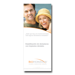 Picture of Discontinued - Overdenture Patient Education Brochure (Spanish), 50 pk