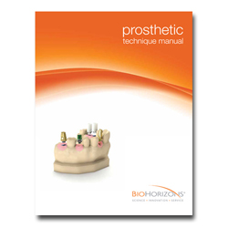 Picture of Internal Prosthetic Manual