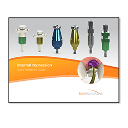 Picture of Internal Impression Technique Guide