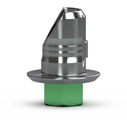 Picture of 4.5mm Hybrid Abutment Base, Hexed