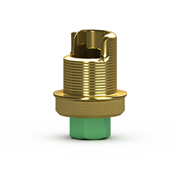 Foto de Base de titanio Internal 4.5 mm para prótesis fresada a medida, con Laser-Lok