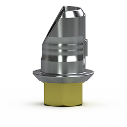 Picture of 3.5mm Hybrid Abutment Base, Hexed