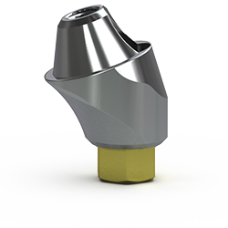 Picture of 3.5mm Multi-unit Abutment, 17-degree, 4mm Collar