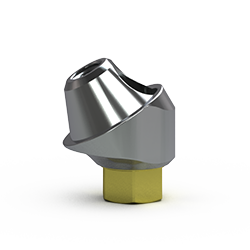 Picture of 3.5mm Multi-unit Abutment, 30-degree, 3mm Collar