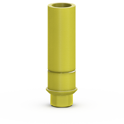 Picture of 3.5mm Plastic Custom Cast Abutment, Hexed