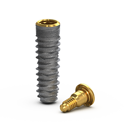 Picture of Gs Blossom™ Implant Ø4.0 x 13mm + Cover Screw