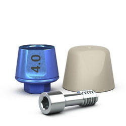 Picture of Single-stage 5.7mm Simple Solutions Abutment, 4.0mm