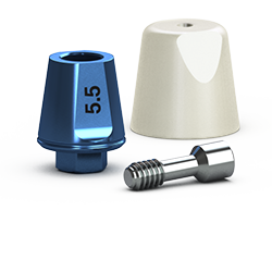 Picture of Single-stage 5.7mm Simple Solutions Abutment Pack, 5.5mm