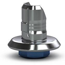 Picture of Single-stage 5.7mm Hybrid Abutment Base, Hexed