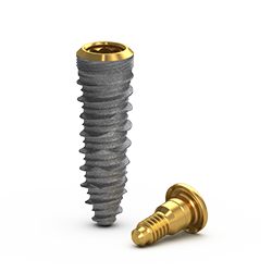 Picture of Gs Blossom™ CT Implant Ø4.0 x 13mm + Cover Screw