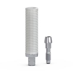 Picture of Gs Gold Cylinder Abutment, w/ Retaining Screw