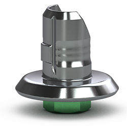 Picture of Single-stage 4.5mm Hybrid Abutment Base, Hexed