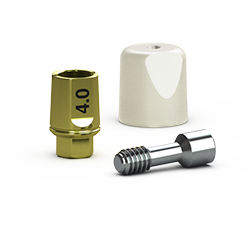 Picture of Single-stage 3.5mm Simple Solutions Abutment Pack, 4.0mm