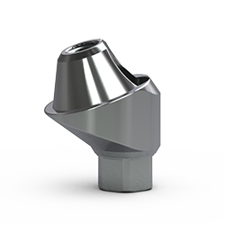 Picture of 3.0mm Multi-unit Abutment, 17-degree, 3mm Collar