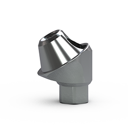 Picture of 3.0mm Multi-unit Abutment, 30-degree, 3mm Collar
