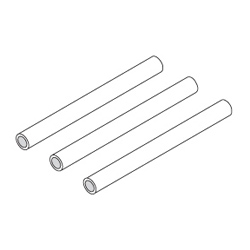Picture of Spare Pump Tubes (Implantmed SI-915 and Elcomed SA-310) (set of 3)